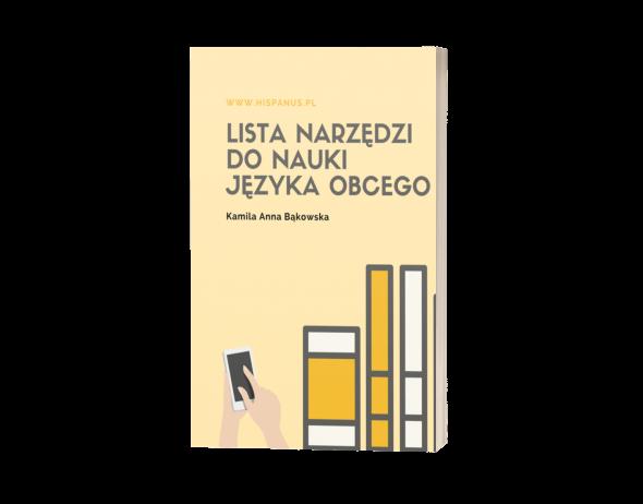 lista do nauki hiszpański książka